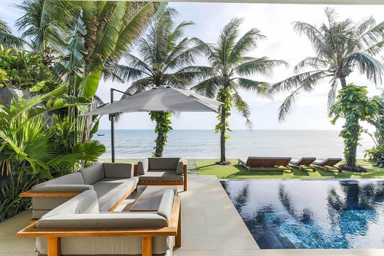 Biệt thự Villa có không gian đẹp, có hồ bơi tại Phan Thiết