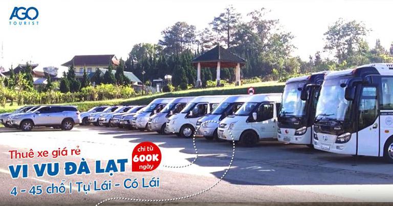 địa điểm thuê xe ô tô tự lái tại Đà Lạt