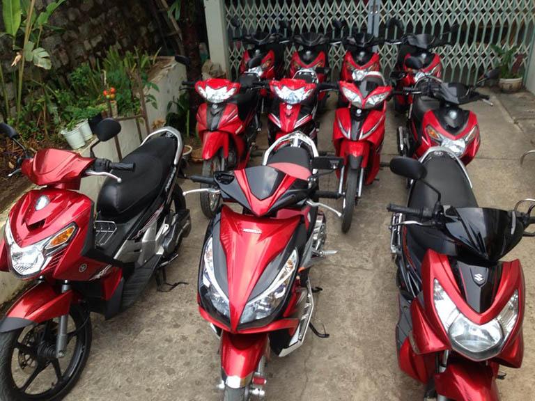 Điểm cho thuê xe máy tại Đà Lạt