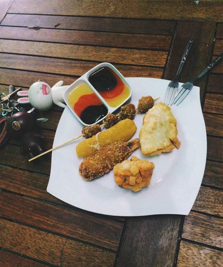Quán ăn vặt ngon tại Quy Nhơn