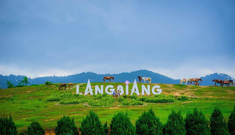 Khu du lịch núi Lang Biang Đà Lạt