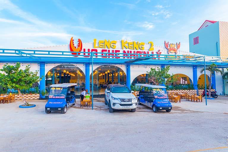 Nhà hàng view đẹp sang trọng ở Eo Gió