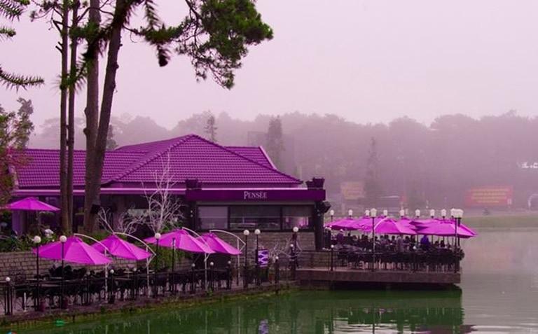 quán cafe gần hồ Xuân Hương Đà Lạt