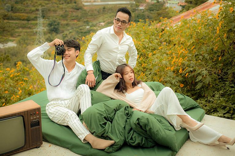 quán Cafe giường nằm tại Đà Lạt