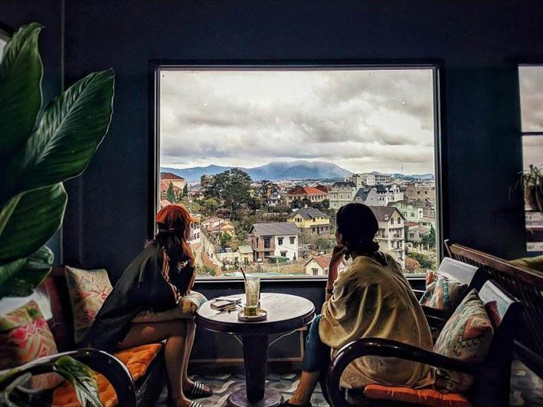 Quán cafe đẹp gần trung tâm Đà Lạt