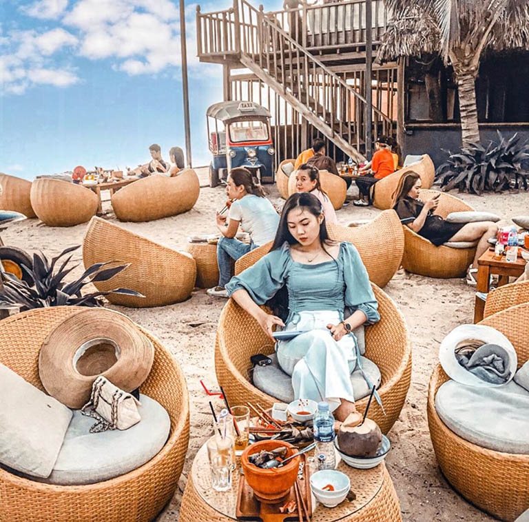 quán cafe view đẹp Mũi Né Phan Thiết