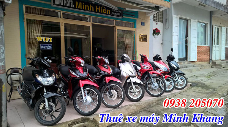 Địa chỉ cho thuê xe máy gần bến xe Đà Lạt