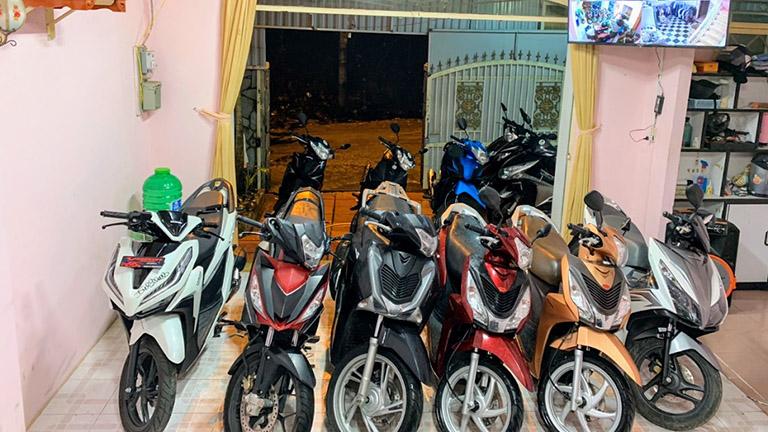 Địa chỉ cho thuê xe máy gần Hồ Tuyền Lâm