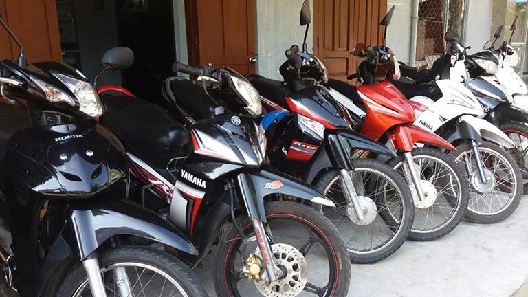 địa điểm cho thuê xe máy tại Phú Quốc