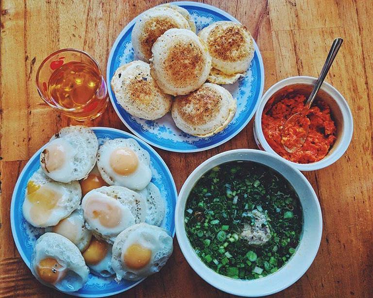 địa điểm quán ăn sáng ngon tại Đà Lạt