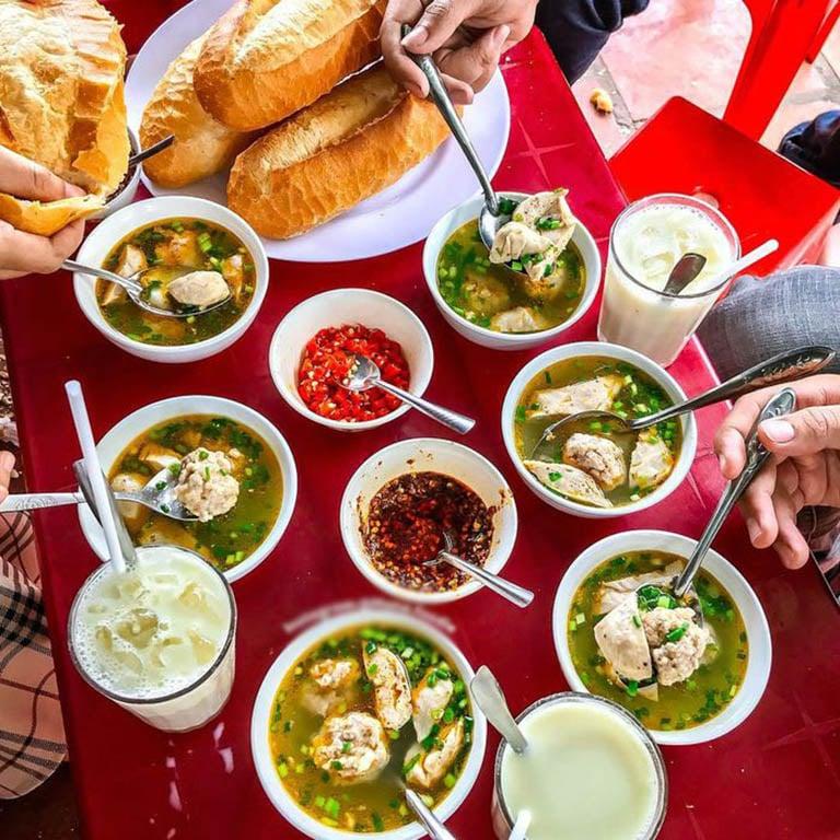 quán ăn gần chợ đêm Đà Lạt
