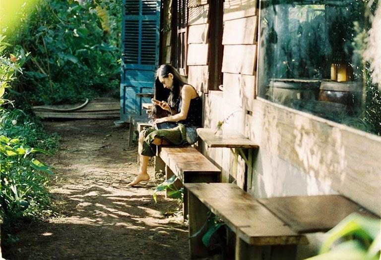 quán cafe gần nhà thờ con gà