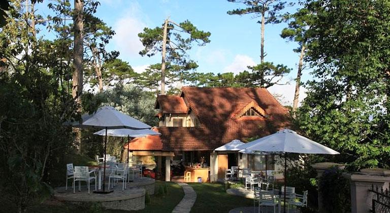 Quán cafe gần Hồ Tuyền Lâm Đà Lạt