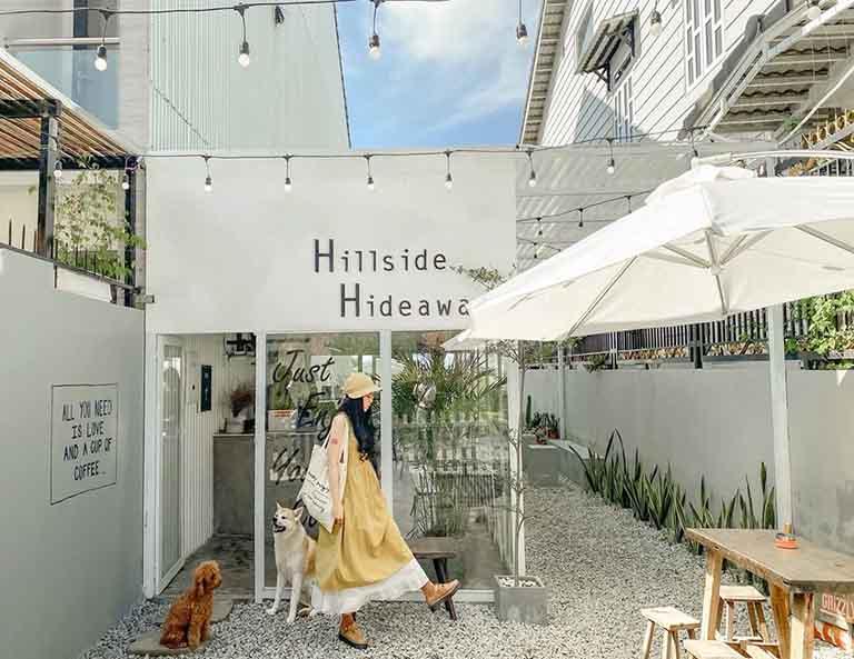 Quán cafe gần thung lũng Tình Yêu