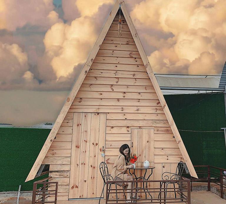 quán cafe Hồ Trên Mây Đà Lạt