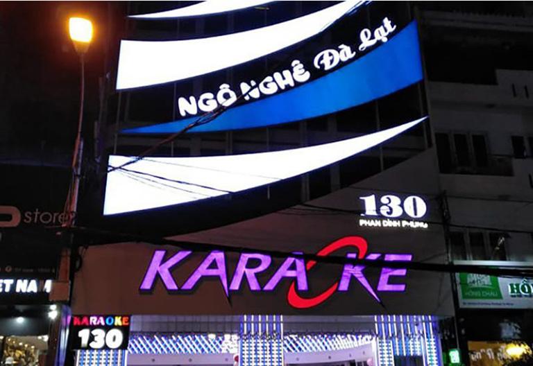 quán karaoke gần chợ đêm Đà Lạt