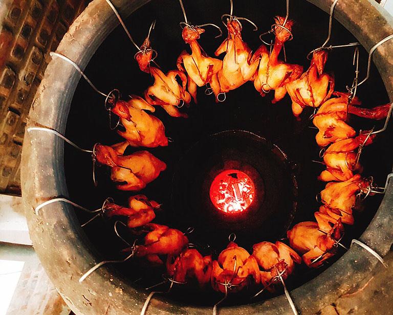 quán lẩu gà lá é tại Đà Lạt