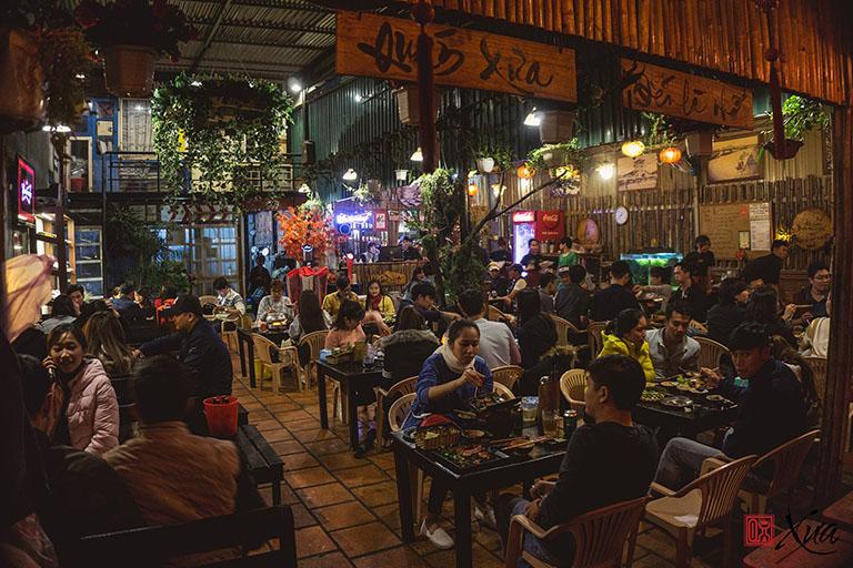 quán nướng gần chợ đêm Đà Lạt