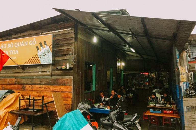 quán ăn gần Nhà Thờ Con Gà Đà Lạt