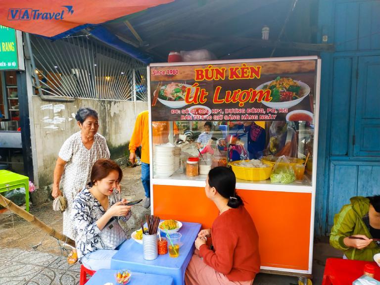 Quán ăn sáng tại Phú Quốc