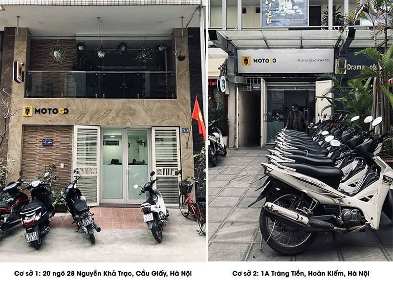 Địa chỉ thuê xe máy tại Hà Nội