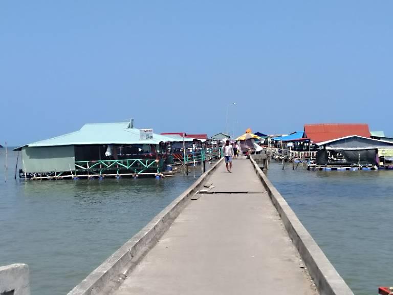 Quán ăn tại Gành Dầu Phú Quốc
