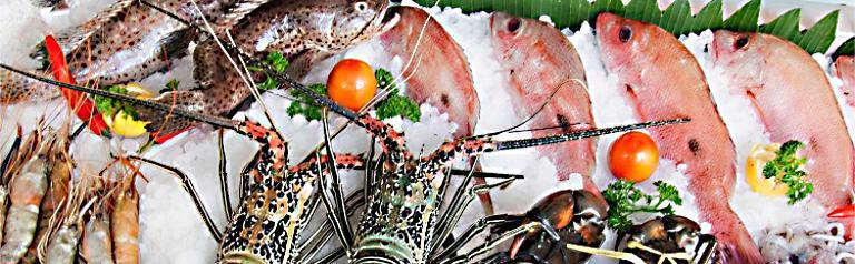 Vựa hải sản tại Phú Quốc