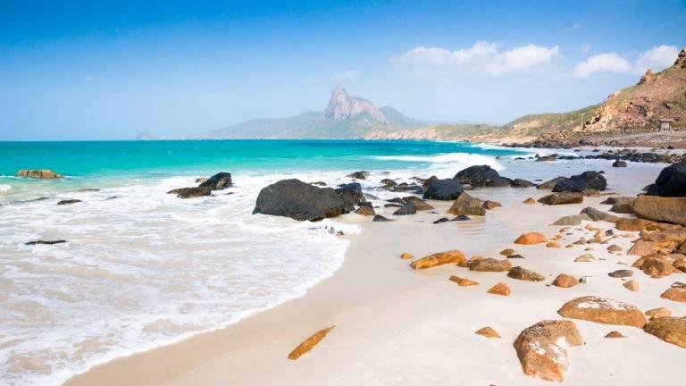 Bãi biển đẹp tại Côn Đảo