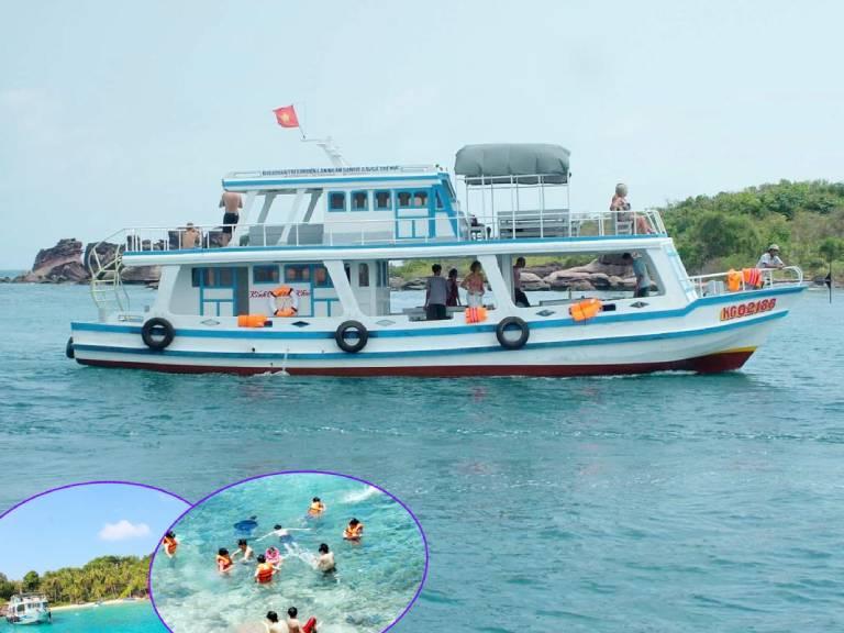 Địa chỉ có thuê tàu thuyền tại Côn Đảo