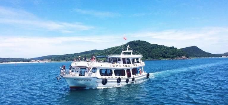 Địa chỉ cho thuê tàu thuyền du lịch tại Côn Đảo