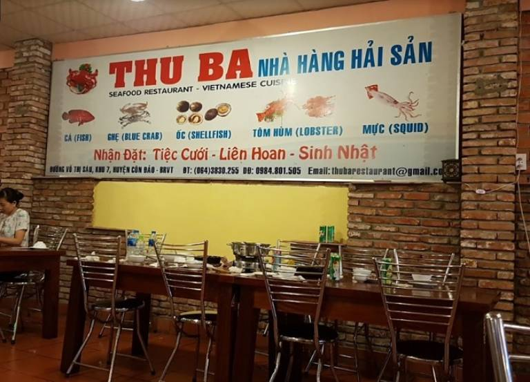 Nhà hàng hải sản tại Côn Đảo
