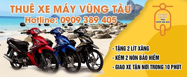 Cửa hàng Anh Thái (Vũng Tàu) đã có hơn 15 năm hoạt động trong lĩnh vực cho thuê xe gắn máy