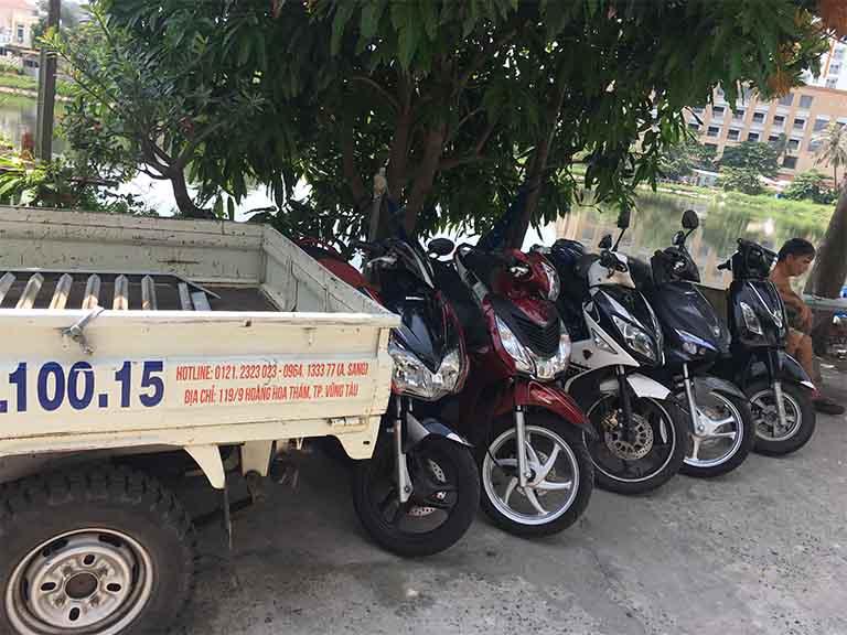 Dịch vụ cho thuê xe gắn máy Tấn Phát luôn cung cấp cho khách du lịch các loại xe tay ga, xe số khác nhau