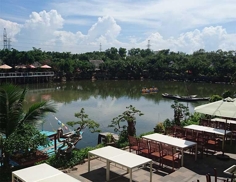 Nhà hàng Bờ Sông Vũng Tàu có dịch vụ câu cá miễn phí