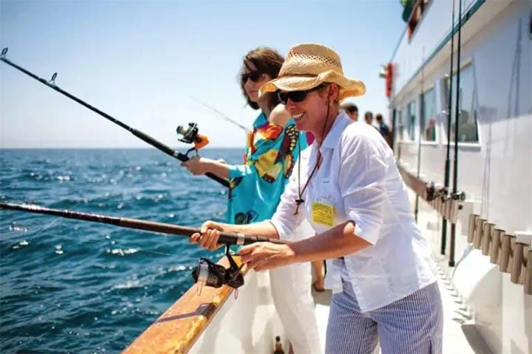 Sẽ thật tuyệt vời nếu bạn trải nghiệm câu cá tại Marina Vũng Tàu