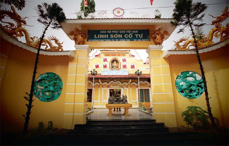 Linh Sơn Cổ Tử là một trong những ngôi chùa cổ xưa nhất ở Vũng Tàu