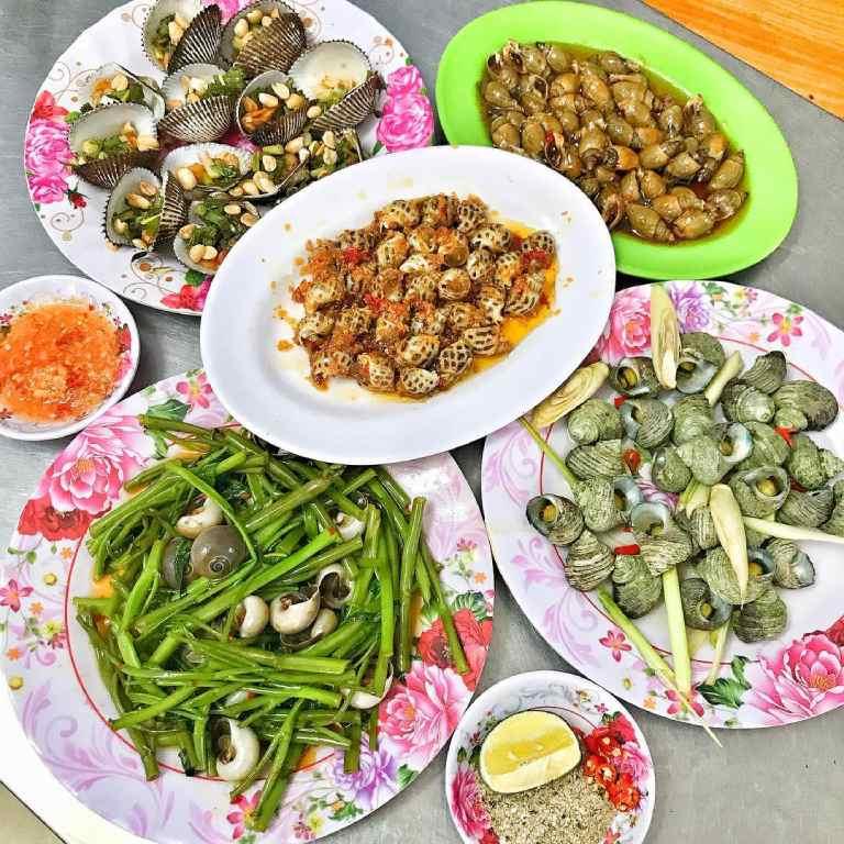 Quán hải sản tại Vũng Tàu