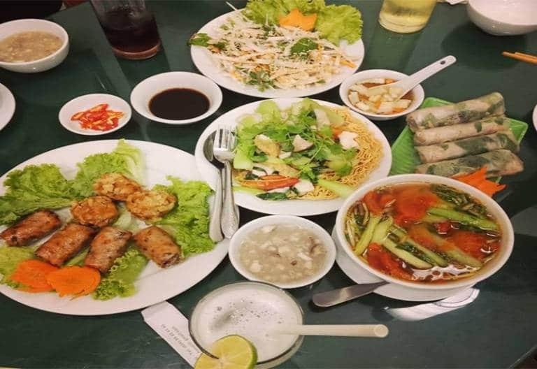 quán chay ngon tại Vũng Tàu