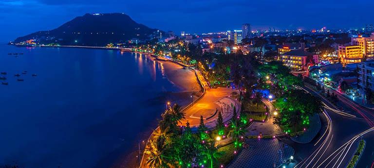 địa điểm ăn chơi ban đêm tại Vũng Tàu