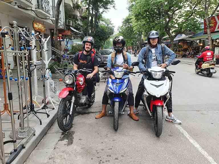 Địa điểm cho thuê xe máy tại Ba Đình Hà Nội