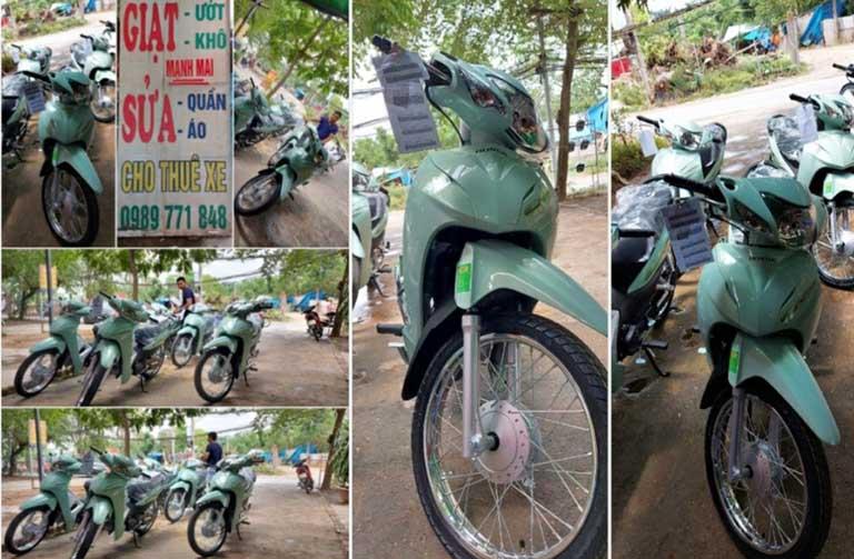 Địa chỉ cho thuê xe máy tại quận Từ Liêm Hà Nội