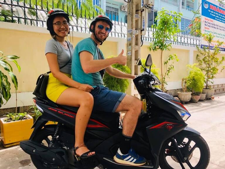 địa chỉ cho thuê xe máy ở Bãi Sau Vũng Tàu