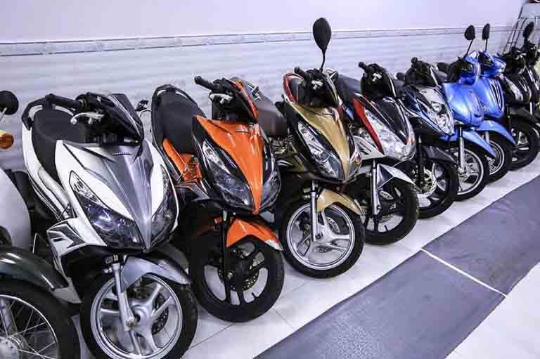 Các địa chỉ cho thuê xe máy tại Đà Nẵng uy tín, giá rẻ
