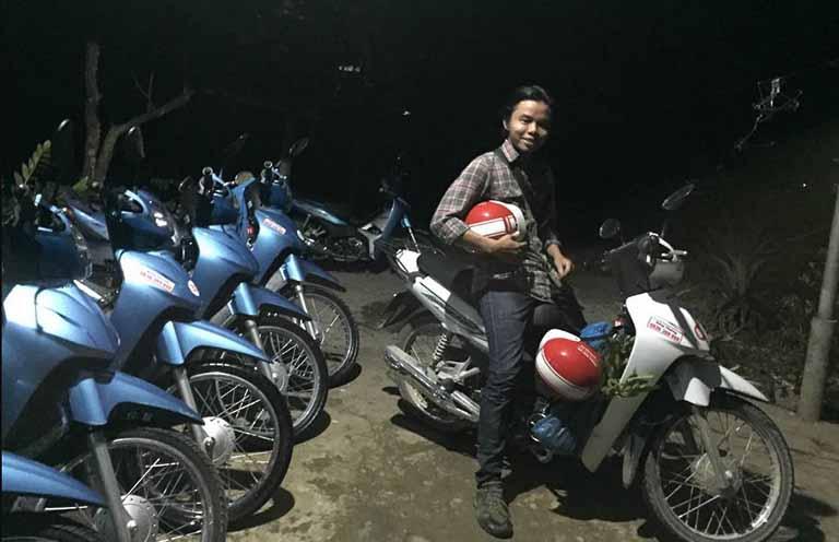 Nên thuê xe máy ở đâu tại Đồng Văn?