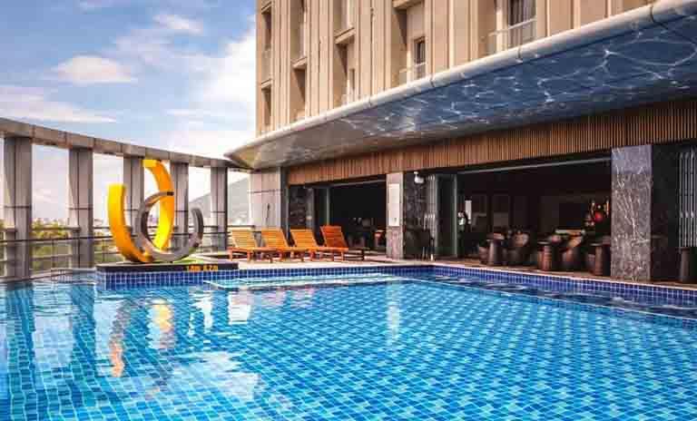Malibu Hotel có thiết kế sang trọng, thoải mái, đầy đủ tiện nghi