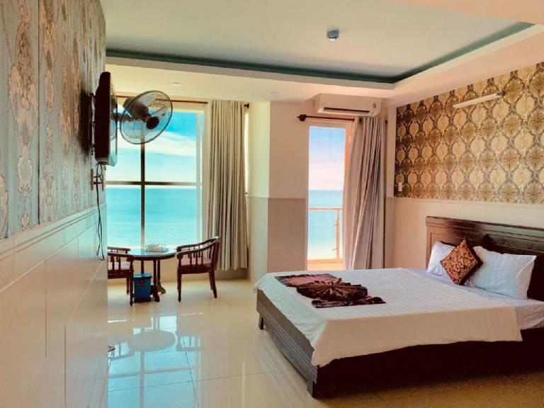 khách sạn bãi sau vũng tàu view biển